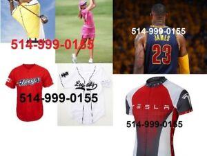 Uniformes et vêtements sportif - directement du Fabricant