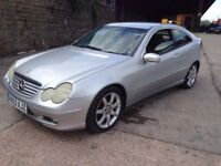 2003 Mercedes c180 kompressor Coupe Px welcome