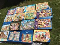 21 jigsaw puzzles 1000 pieces
