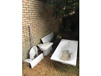 Bathroom suite £200.00