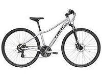 ladies trek niko hybrid bike medium frame in excellent condition