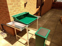 Aluminium Seed Potting Station