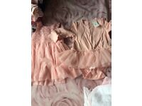 4 brand new dresses age 6-9 months