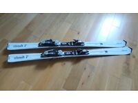 Ladies' carving skis/bindings