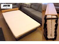 *VERY COMFY FOLD UP DOUBLE BED* Jay-Be, barely used, double, fold up bed - Non smoker, no pets