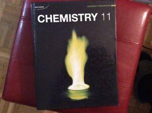 Nelson Chemistry 11 Hardcover