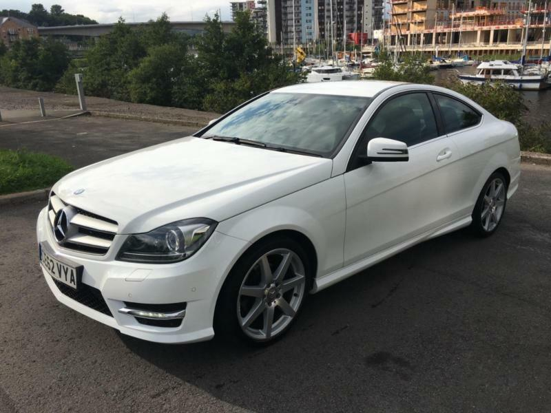 2012 MERCEDES C-CLASS C180 BLUEEFFICIENCY AMG SPORT COUPE PETROL