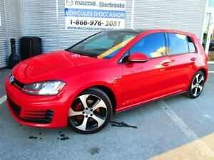 2015 Volkswagen Golf GTI Autobahn 40500KM TOIT OUVRANT CLIMATISE