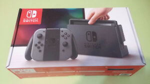 Grey Switch console