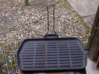 Cast Iron Rectangular Grill pan