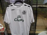 EVERTON FC TOPS XL £10 EACH PLUS BRAND NEW TRACK SUIT ALSO XL £20