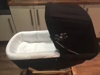 Silver Cross Wooden Rocker Stand for sleepover carrycot