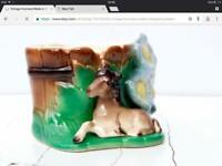 Hornsea pony vase 590