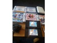 ds lite with case games charger faulty hinge