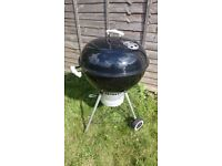 Weber One-Touch Premium Charcoal Barbecue BBQ - 57cm