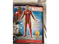 Mans large Marvel Iron Man Custom