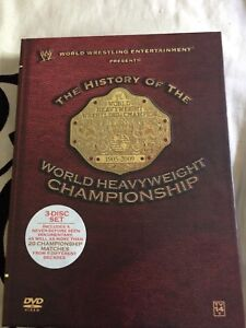 WWE - The History of the World Heavy