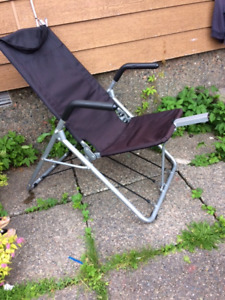 Recumbent stretching chair