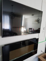 $60 Tv wall mounting 647-821-5194 FAST AND SECURE