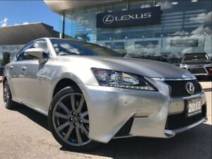 2015 Lexus GS 350 F-Sport 1 AWD Navi Backup Cam Leather Sunroof