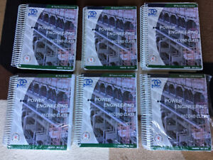 2nd Class Power Engineering Books - Excellent Condition