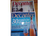 Decanter Magazine The world's best wine magazine June 2013- August 2017.