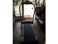 Argos ProFitness folding treadmill.