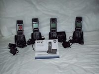 BT6500 QUAD PHONES