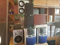 Stereos and speakers