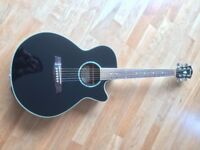 Beautiful Ibanez AEG10II Electro Acoustic 6 string Guitar. Full-size in excellent condition. £150.