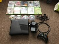 Xbox 360 Slim Model 60GB comes with games all leads and controller £65
