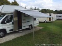 2009 Compass Avantgarde 150 Luxury 4 berth, only 12,500 miles, not even run in.