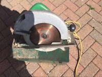 Hitachi 110v circular saw