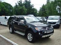 2008 MITSUBISHI L200 2.5 TD D Cab Animal 4WD Pick Up 71,000 MILES NO VAT