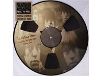 RARE ROLLING STONES 'LIVE ON AIR 1963-1964' LIMITED EDITION PICTURE DISC LP