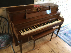 Apartment Upright Piano - 2nd Owner - Excellent Condition