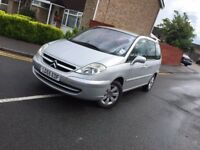 2005 Citroen 7 Seats C8 2.2 HDi 16v Exclusive 6 Speed 5 doors 1 year mot