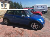 Blue Mini Cooper for sale