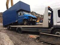 All MOT Failures, accident damaged, or Scrap cars wanted, CASH PAID AND FREE UPLIFT