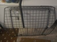 Dog guard and tailgate for sale to fit Vauxhall Vectra 07