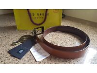 Brand new Ted Baker reversible leather belt 34ins