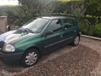 Renault Clio 2001 for braking or parts