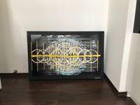 Large Wall ArtAbstract Glass Modern Glass Paiting