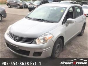 BACK TO SCHOOL SPECIAL 2007 NISSAN VERSA 1.8 CVT - ACCIDENT FREE