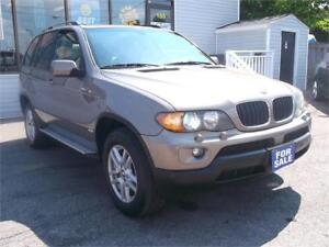 2004 BMW X5 3.0i * NAVIGATION  PANORAMIC ROOF * LEATHER !!!
