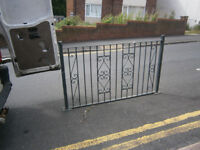 WROUGHT IRON RAILINGS BALISTRADES WROUGHT IRON FENCE BALCONY EDGE IN YEOVIL