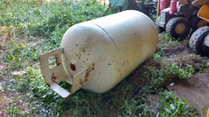 30L propane tank with valve removed