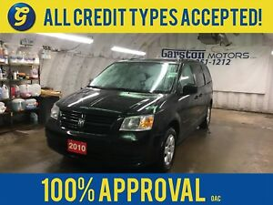 2010 Dodge Grand Caravan SE*DUAL ROW STOW N GO*ROOF RAILS*TRAILE