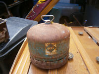 SMALL CAMPING GAZ BOTTLE ENPTY FOR EXCHANGE