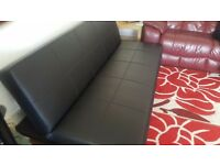 Sofa bed in a very good condition. May deliver for free if local. Comes from smoke/pet free home